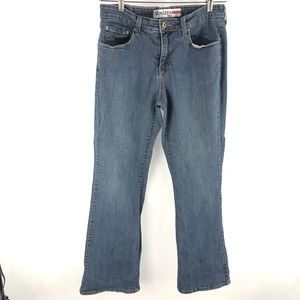 Denizen Blue Boot Cut Denim Jeans 16 M